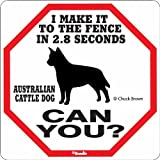 Australian Cattle Dog 2.8 Seconds Sign, My Pet Supplies