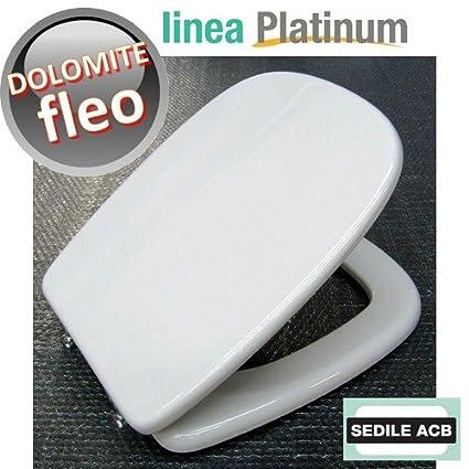 Ceramica Dolomite Serie Fleo.Sedile Compatibile Con Fleo Di Ceramica Dolomite Prodotto Non