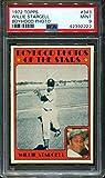 1972 Topps Willie Stargell Boyhood Photo Pittsburgh Pirates #343 PSA 9 MINT (Graded Baseball Cards)