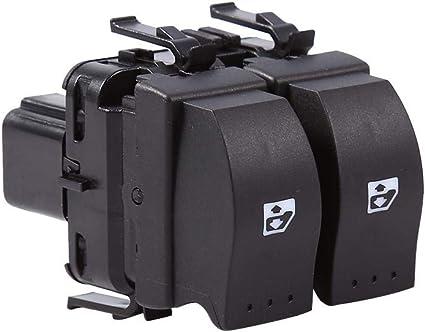 B2 CB1 B1 SB0 Qiilu Interruptor de control Ventana Electr/ónica Botones de los elevalunas derechos 8200 060 045 para Clio II B0 SB1 CB2 CB0 SB2 1998-2014