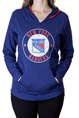 (Official NHL Ladies Team Hoodie (XX-Large, New York Rangers))