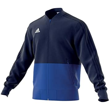 adidas CON18 PRE JKT Chaqueta, Hombre, Azul Claro/Blanco, 3XL: Amazon.es: Deportes y aire libre