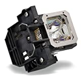 Compatible JVC Projector Lamp, Replaces Part Number PK-L2312UP with Housing