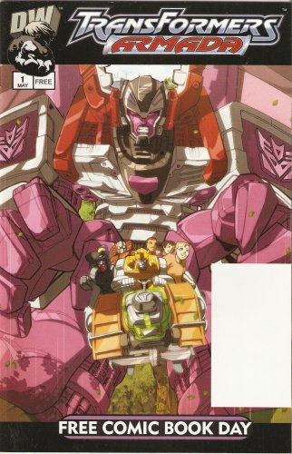 Transformers: Armada #1 Free Comic Book Day Edition May (Dreamwave Productions Transformers)