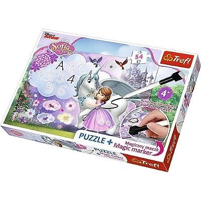 Trefl 75113 - Puzzle - Sofie Et La Licorne Avec Image 54 Pièces