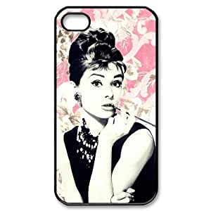 iphone covers Audrey Hepburn Iphone 5 5s Case Academy Award for Best Actress Retro Cases Cover Black Pink