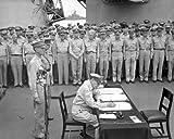 New 8x10 Photo: Surrender of Japan aboard USS MISSOURI