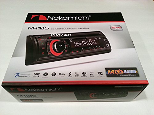 Nakamichi NA105 Car In-Dash AM/FM/CD/MP3/USB/Bluetooth for sale  Delivered anywhere in USA