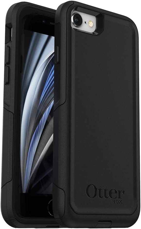 OtterBox Commuter Series Case for iPhone SE (2nd gen - 2020) - Black
