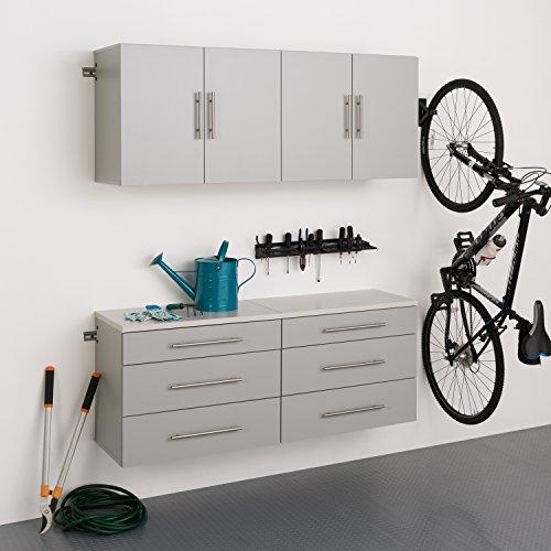 2 Piece Set Cabinet - Prepac 4 Piece HangUps Storage Cabinet Set F, 60