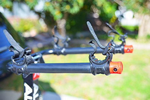 Allen Sports Deluxe Locking Quick Release 2-Bike Carrier for 2 in. & 1 4 in. Hitch by Allen Sports (Image #1)
