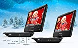 """DBPOWER 11.5"""" Portable DVD Player, 5-Hour Built-in"""