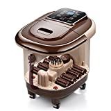WE&ZHE Automatic massage foot basin electric heating foot bath device Foot therapy barrel