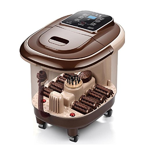 WE&ZHE Automatic massage foot basin electric heating foot bath device Foot therapy barrel by WE&ZHE