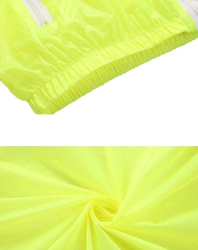 Mochoose Femme L/ég/ère Packable Veste de Sport /à Capuche Protection UV Coupe Vent /à S/échage Rapide