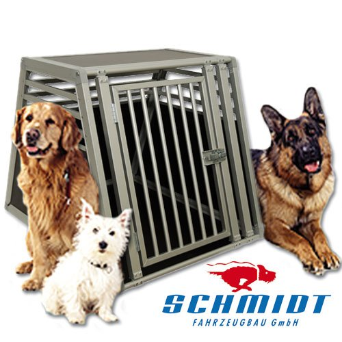 f/ür grosse Hunde Schmidt-Box Hundebox Einzelbox UME 65//93//68