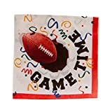 Game Time Football Beverage Napkins 16ct.