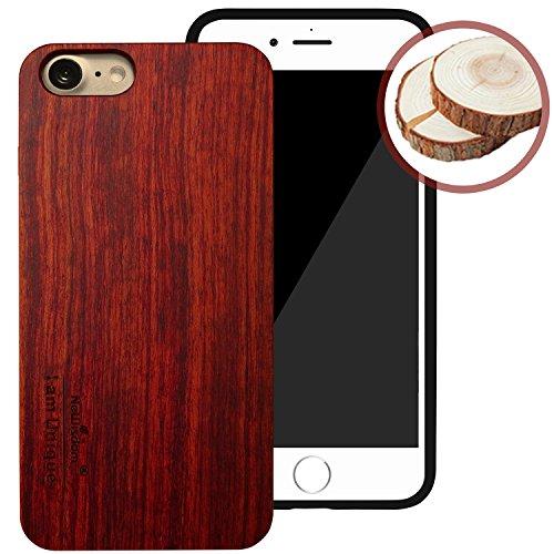 NeWisdom iPhone Handmade Wooden Rosewood
