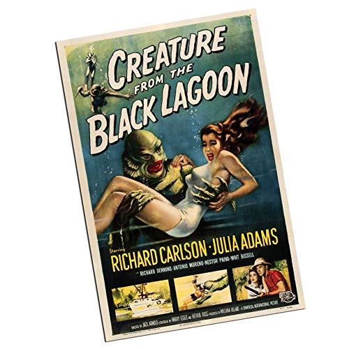 (Creature from The Black Lagoon College Poster Movie Poster Wall Decoration (One 24x36 Inch Poster) )