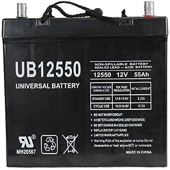 Amazon Com 12v 55ah Group 22nf Gel Battery For John