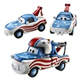 Disney / Pixar CARS Movie Exclusive 3-Piece 1:55 Scale Die Cast Set Mater the Greater [Tia, Mater the Greater & Mia]