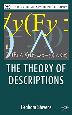 Philosophy of language  Russells theory of descriptions