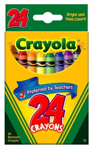 Crayola Crayons Count Box 6 pack