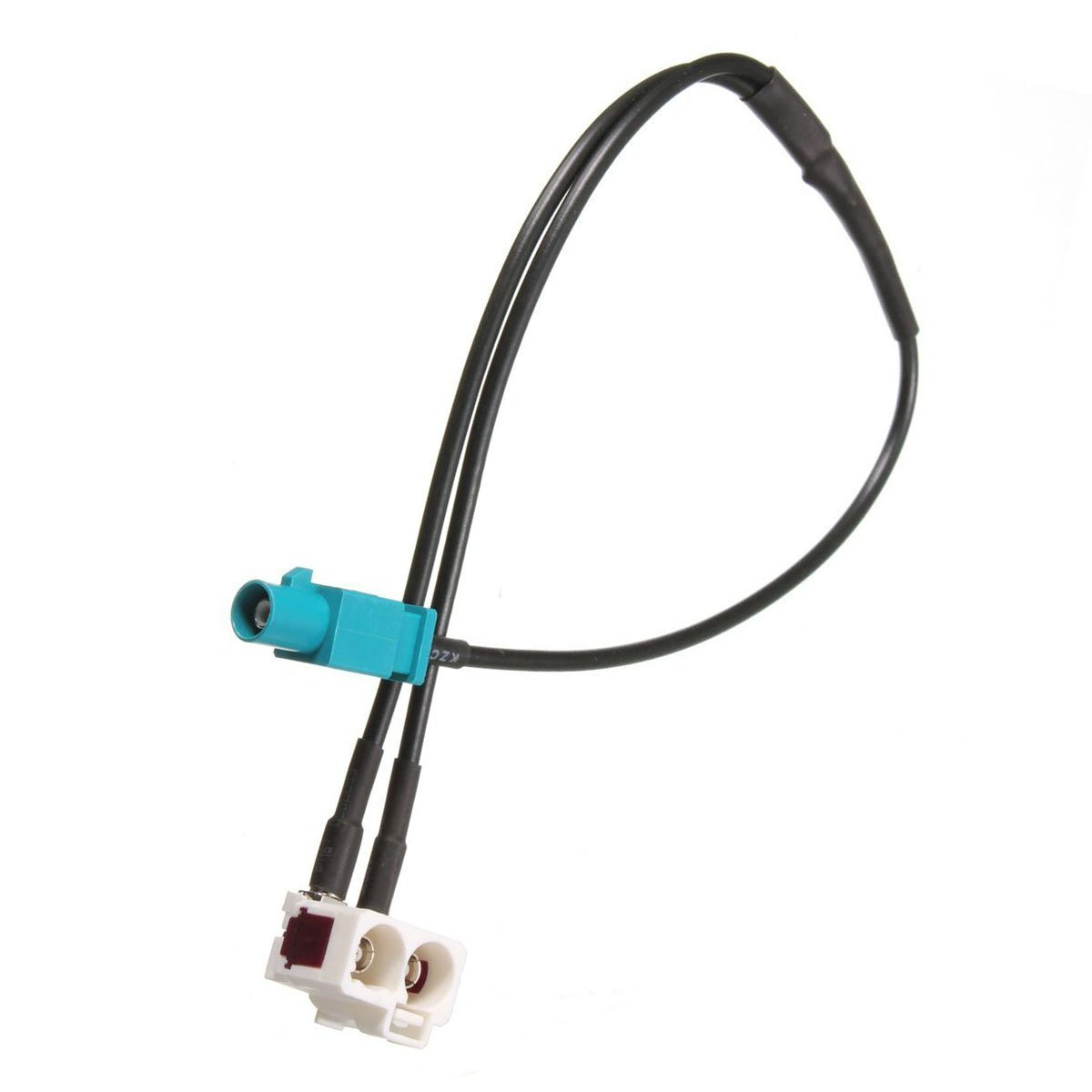 TOOGOO R Adaptateur d/¡/¯antenne Pour VW Fakra Radio Antenne Antenne Adaptateur RNS RCD510 315 Seat Skoda Columbus