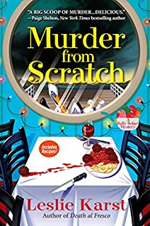 Book Cover: Murder from Scratch: A Sally Solari Mystery