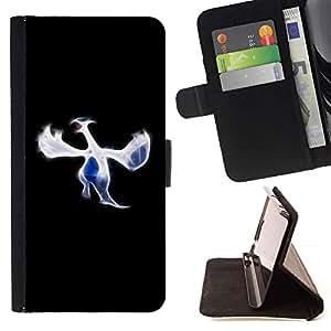 For HTC One M8 Case , Azulejo- la tarjeta de Crédito Slots PU Funda de cuero Monedero caso cubierta de piel