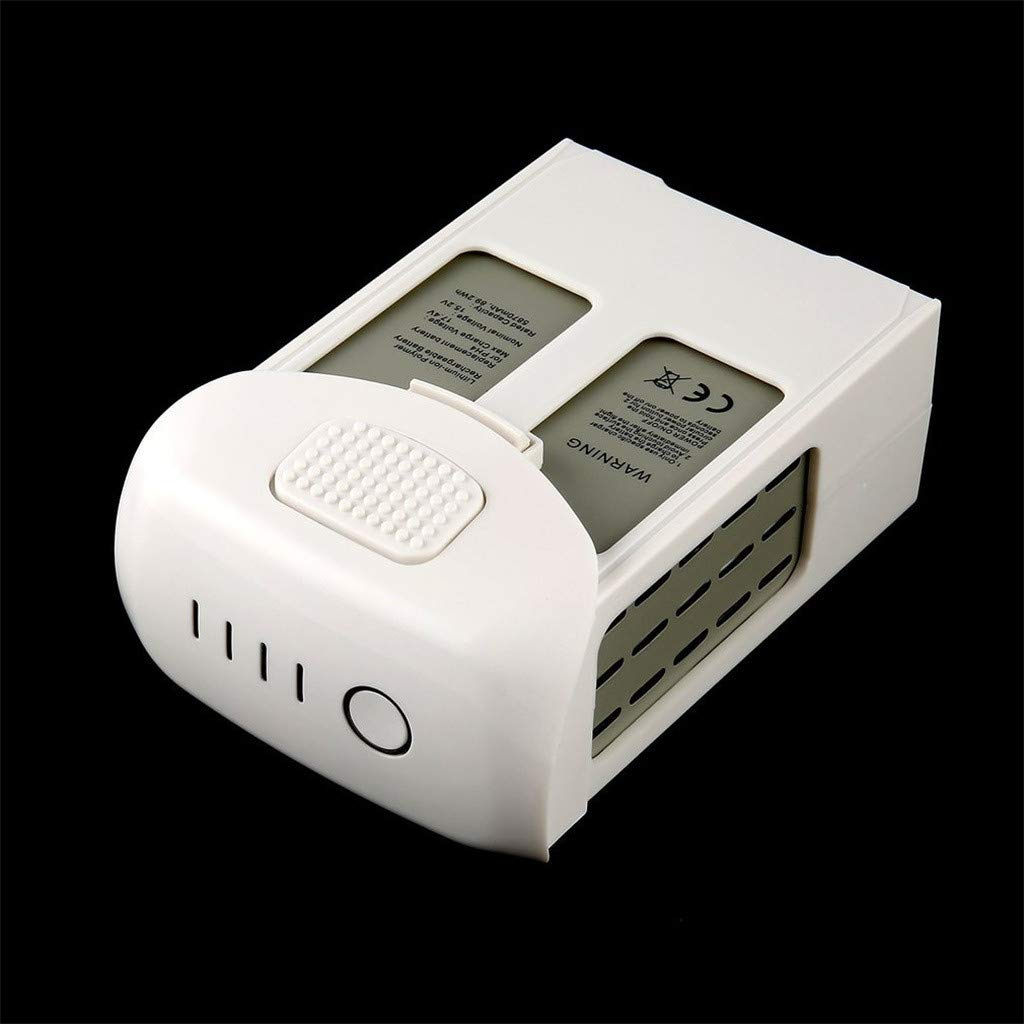 Intelligent Flight Lipo Battery 5870mAh 15.2V for DJI Phantom 4 Series Quality Assurance (White) by Aurorax Electric (Image #4)