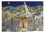 3D Christmas Nativity - German Advent Calendar -Before the Doors of Bethlehem
