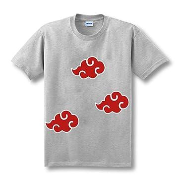 Yuxua Naruto Akatsuki Logo patrón Camiseta Itachi Uchiha ...