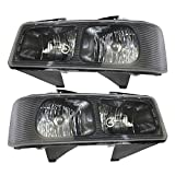 Best OEM headlamp - Driver and Passenger Composite Headlights Headlamps Replacement Review