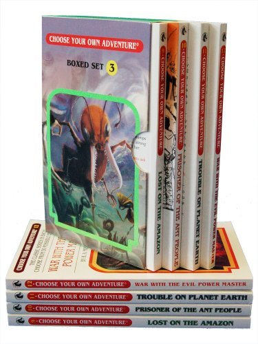 Download By R. A. Montgomery - Box Set #4-3 Choose Your Own Adventure Books 9-12:: Box Set Containing: Lost on the Amazon, Prisoner of the Ant People, Trouble on Planet Earth, War w (8/16/06) ebook