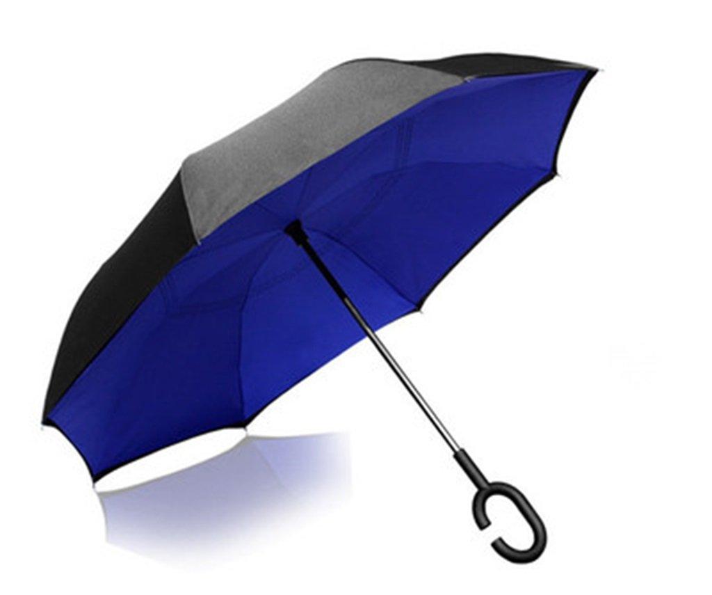 risparmia il 60% di sconto e la spedizione veloce in tutto il mondo Ombrello Ombrello da da da Esterno con Doppio Ombrello Antivento, Manico Lungo da Uomo e da Donna (colore    1)  risparmiare fino all'80%