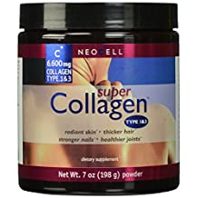 Neocell Super Powder Collagen, Type 1 and 3, 7 Ounce (Pack of 4)