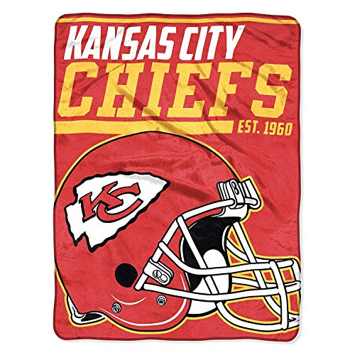 Kansas City Chiefs Blanket. This Soft Fleece Throw Blanket Will Keep You Warm at The Game or ar Home.