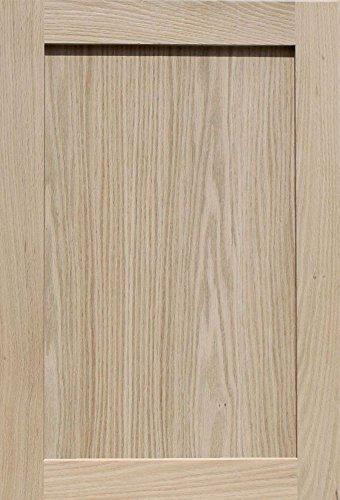 Oak Veneer Shaker (Unfinished Oak Shaker Cabinet Door by Kendor, 25H x 17W)