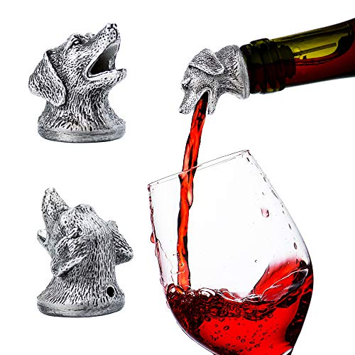 - Stainless Steel Animal Wine Pourer & Aerator (Dog) NEW DESIGNS AVAILABLE