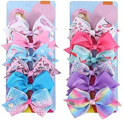 5X Bow Butterfly Hair Clips Girls Hair Grips Kids Hairpin Headwear Accessory UWU