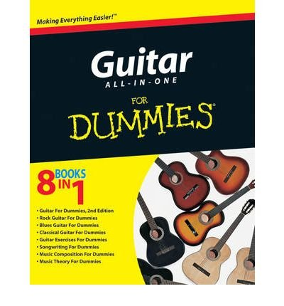 Guitar All-in-One For Dummies (For Dummies (Lifestyles Paperback)) (Paperback) - (Son House Guitar)