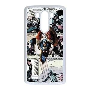 LG G3 Cell Phone Case White Marvel comic J3Y2SM