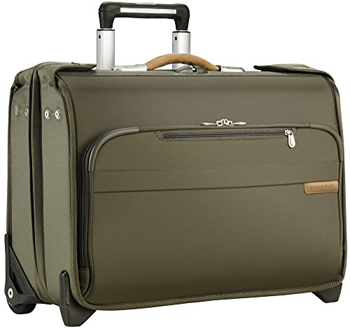 Briggs & Riley Baseline Carry-On Wheeled Garment Bag (Black) by Briggs & Riley