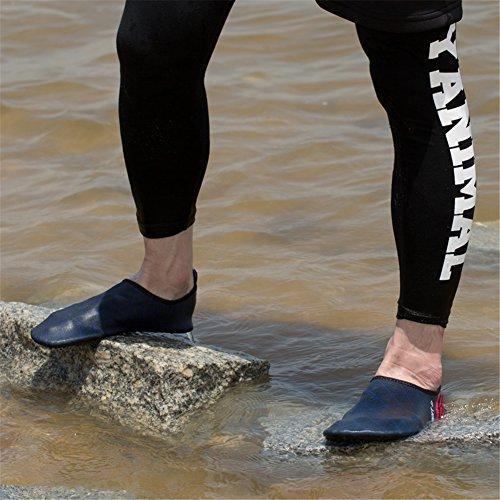 Saguaro Hombres Mujeres Secado Rápido Descalzo Zapatos De Piel De Agua Calcetines Aqua Deep Blue