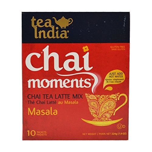 Tea India Chai Moments Instant Masala Tea, 10 Count (Pack of - India Of Lifestyle