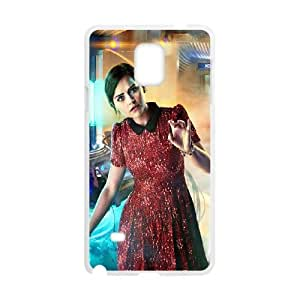 Samsung Galaxy Note 4 Cell Phone Case White Doctor Who Jenna Coleman Krmof