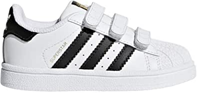 Adidas ORIGINALS Baby Superstar CF I Running Shoe Core Black/White, 9 M US Toddler