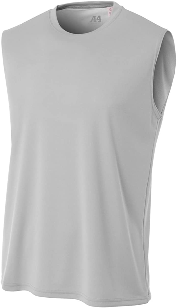 A4 Men's Cooling Performance Muscle Tank Top | Moisture-Wicking |