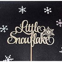Little Snowflake Cake Topper, Snowflake Cake Topper, Winter Onederland Cake Topper, Winter Baby Shower Cake Topper, Winter Birthday Cake Topper, Little Snowflake Party Decorations, Winter Baby Party Decorations
